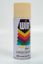 Cream shade AEROSOL SPRAY PAINTS Touch Up No Brush No Motor 400ml