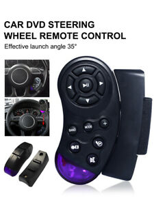 Universal Wireless Car Steering Wheel Button Remote Control Stereo For Radio