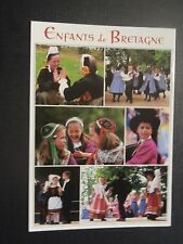CPM Enfants de Bretagne