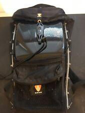 ERGO Techno Hard Shell Motorcycle Ski Backpack Bag Black