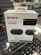 Sony WF-1000XM3 True Wireless Noise-Canceling In-Ear Black Sealed Brand New