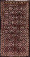 Vintage Geometric All-Over Traditional Area Rug Handmade Oriental Carpet 4x7