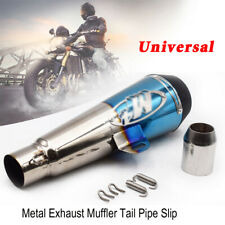 Metal Exhaust Muffler Baffle Tail Pipe Slip On For Motorcycle Street Dirt Bike