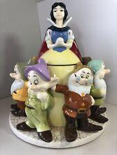 Disney Snow White and Seven Dwarfs Cookie Jar - Vintage and Rare
