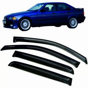For BMW 3ER (E36) 4DR 1990 - 1998 Window Visors Sun Rain Guard Vent Deflectors