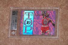 1995-96 NBA Hoops Top 10 Michael Jordan #AR7 BGS 8.5 NM-MT+ HOT JORDAN CARD!