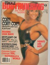 Female Bodybuilding Women's Muscle Magazine/Cory Everson 3-88 #8