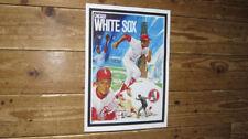 Chicago White Sox Baseball Artwork POSTER