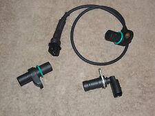 Bmw Intake & Exhaust Cam Camshaft &Crankshaft Position Sensor Set New  With O-R