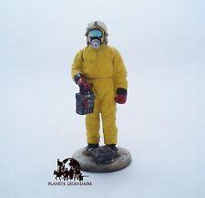 Figurine Del Prado soldat Pompier Tenue Protection Chimique Allemagne 1996