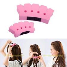 Sponge  Twist Styling Hair Braider Braid Tool Holder Clip DIY French Grace