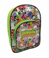 MOSHI MONSTERS GREEN BLACK CHILDRENS BACKPACK RUCKSACK SCHOOL BAG NEW WITH TAGS