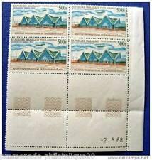 MADAGASCAR timbre - stamp aérien yt n°105 - bloc de 4 - n**