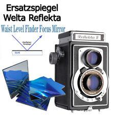 Welta Reflekta II Replacement Mirror (E)50x50mm LS50, perfect Fit, MIRROR ONLY!