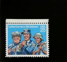 1989 25c Letter Carriers, We Deliver! Scott 2420 Mint F/VF NH