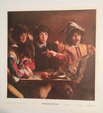 The Beatles vintage poster Renaissance Minstrels 1960's Fabio Traverso Pin-up