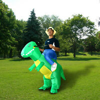 Dinosaur Fancy Dress Inflatable Suit - Fan Operated Costume Monster Lovely
