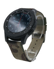 22mm Camo Fabric Watch Band Strap + Tool For Samsung Gear S3 Frontier / Classic