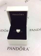 NEW 100% Pandora Sterling Silver & Clear CZ SPARKLE OF LOVE Charm 791241CZ