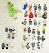 Lego Minifigures Mainly Star Wars x 40 Dinosaur Mismatched No Weapons V324
