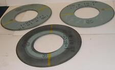 Lot de 3 meules boisseau Ø ext 350 mm - ép 8 mm - Ø alésage 160 mm - NEUVES