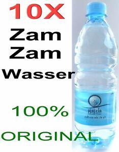 10 X Zamzam Wasser aus Mekka Zam Zam Brunnen 100% Original *Islam Muslim hijab*