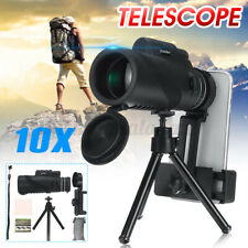 50x60 Ultra HD Telescope Monoculars Night Vision + Tripod + Clip Hunting Set