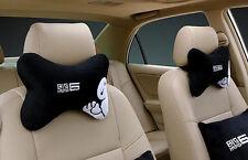 2pcs Cute Cartoon Baymax Car Auto Neck Rest Cushion Pillow Pillow Mat 001