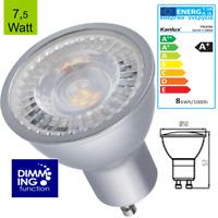 LED GU10 7,5 Watt Leuchtmittel Dimmbar warmweiß - kaltweiß 2700K 4000K 6500K