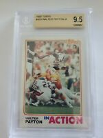 1982 Topps #303 Walter Payton IA BGS 9.5 Gem Mint - Chicago Bears