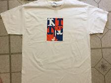 New York Mets Logo T-Shirt Size XL Free Shirt Friday MLB Citi Field Blue Orange