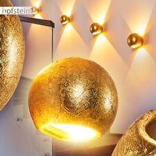 Aplique cerámica dorado redondo salón pasillo dormitorio entrada vestíbulo