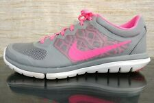 look for 46e25 32197 NIKE FLEX 2015 RUN Women s Sz 9.5 Gray Pink RUNNING CROSS FIT ATHLETIC SHOES