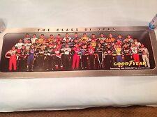 CLASS OF 2005 NASCAR SPRINT CUP DRIVER POSTER GOODYEAR 34x11 MAN CAVE GARAGE