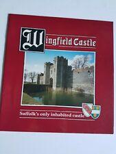 Wingfield Castle Suffolk Booklet Vintage