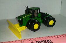 1/64 ERTL custom John deere 9620r 4wd tractor w/ mtd front silage blade farm toy