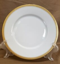 VINTAGE VICTORIA AUSTRIA GOLD TRIM 8 1/2 Inch Salad Dessert Plate VG+