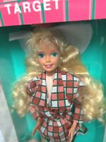 PRETTY IN PLAID BARBIE DOLL VINTAGE MATTEL 1992 MADE IN MALAYSIA NIB NRFB