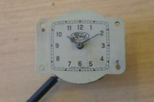 VINTAGE 1920'S - 1930'S FORD CAR CLOCK - X50494 - WIND UP - WORKING