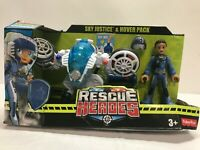 2019 Fisher-Price rescue heroes sky justice & hover pack