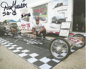 DON Big Daddy GARLITS Signed 8 x 10 Photo NHRA Drag Racing Legend VINTAGE