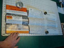 vintage DEDHAM KAYAKS papers, brochure, undated,