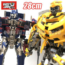 WJ Transformers Optimus Prime OP Bumblebee 11in Oversized Alloy Action Figure