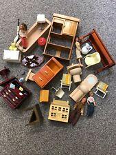 Vintage Retro Dolls House Furniture  Mixed Job Lot Bundle 1950's - 60's