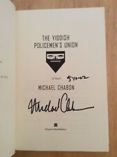 SIGNED by Michael Chabon - The Yiddish Policemen's Union HC 1st/1st + Pic