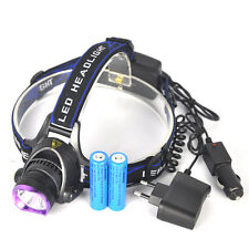 BORUiT Xm-l T6 5000 Lumens LED Rechargeable Headlamp Head Torch Headlight 18650