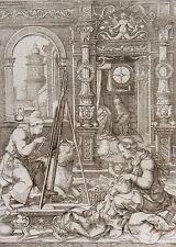 Dirk Jacobsz Vellert St Luke painting the Virgin Amand Durand c1880 Italia Italy