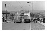 pt5887 - Bradford Trolleybuses 701 & 603 , Yorkshire - photo 6x4