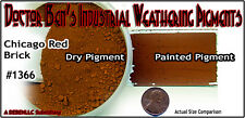 Chicago Red Brick Weathering Pigment/Paint 2oz-Doctor Ben'S Plastic. ots02