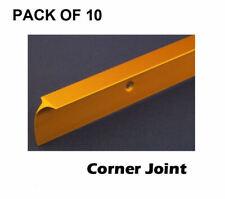 Kitchen WORKTOP STRIPS Edge Trim Corner Joint 30mm Gold Pack of 10 £1.95 EACH!